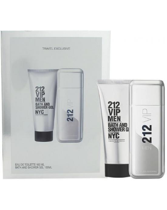 212 VIP男性淡香水2入禮盒