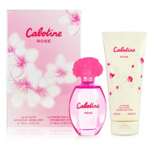 CABOTINE 2pcs Set:Rose EDT_100ml+Perfumed Body Lotion_200ml
