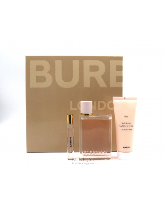 BURBERRY HER女性淡香精禮盒