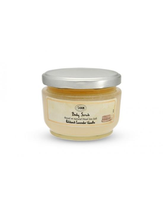 Patchouli Lavender Vanilla Body Scrub_600g