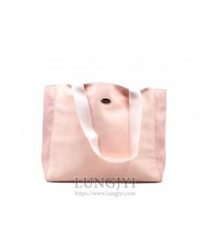 淺粉色托特包