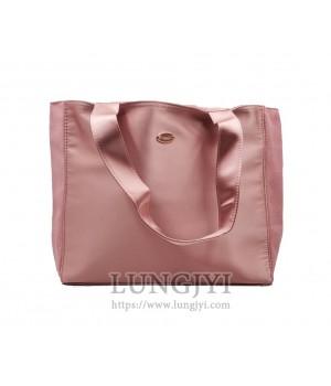 深粉色托特包