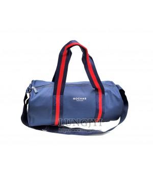 ROCHAS深藍色旅行提袋