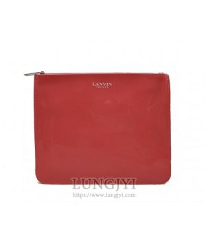 橘紅色收納包
