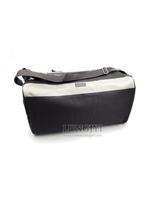 黑灰雙色旅行提袋