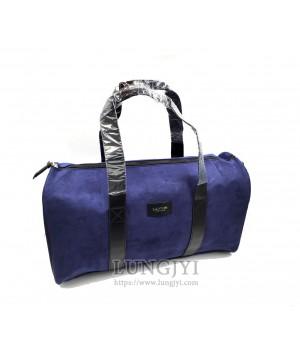 深藍色旅行提袋