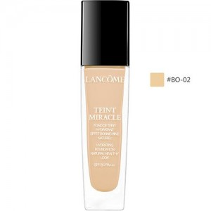 LANCOME #BO-02 TEINT MIRACLE Hydrating Foundation Natural
