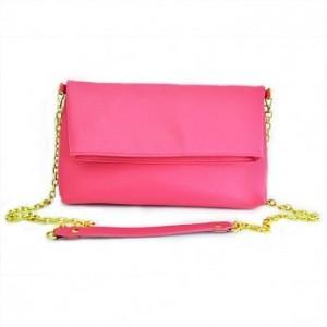 &秋化粉紅鍊包