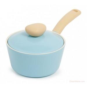 &陶瓷不沾單柄湯鍋+蓋EK-RD-S18